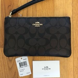 Coach wristlet NEW WITH TAGS